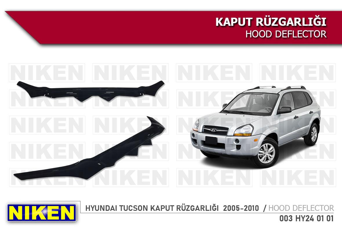 HYUNDAI TUCSON KAPUT RÜZGARLIĞI  2005-2010