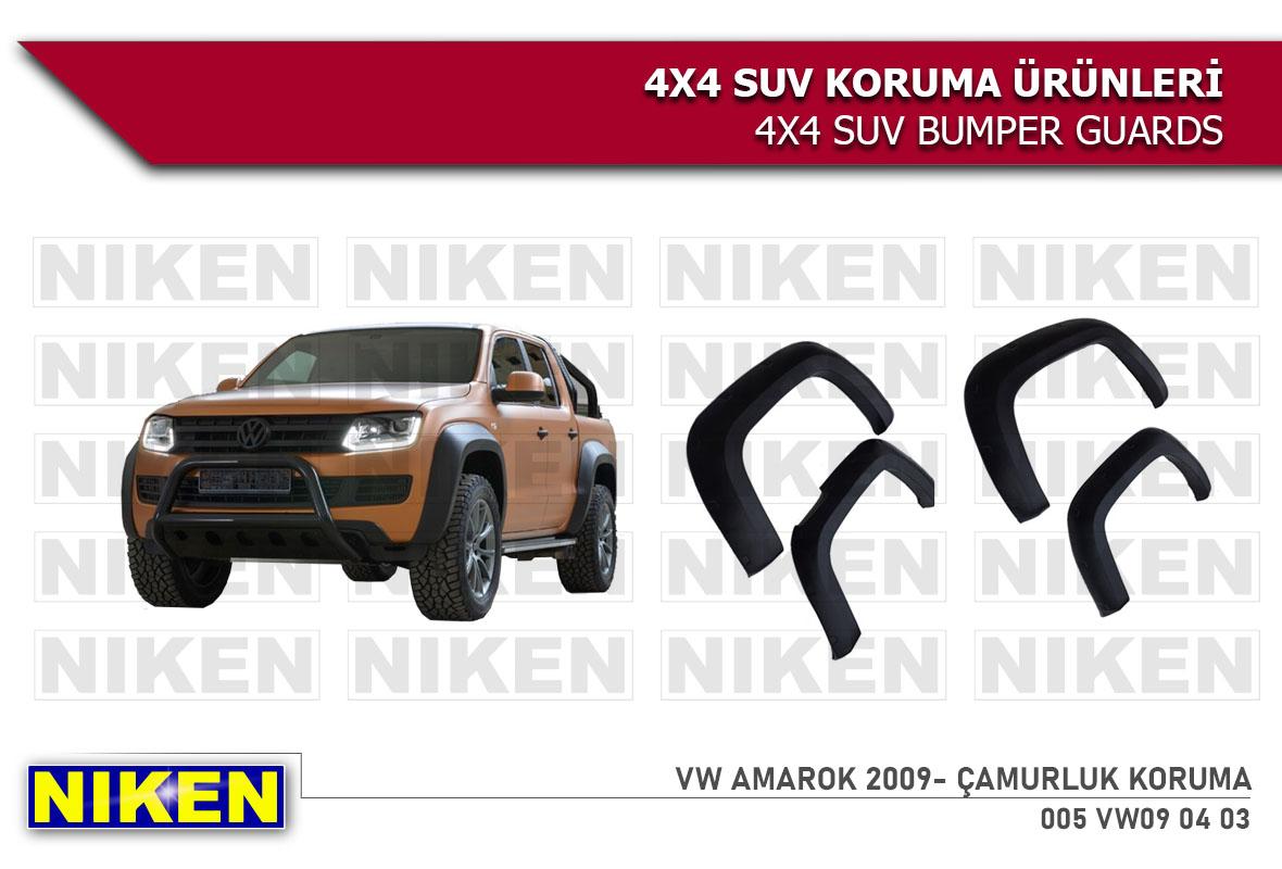 VW AMAROK 2009- ÇAMURLUK KORUMA