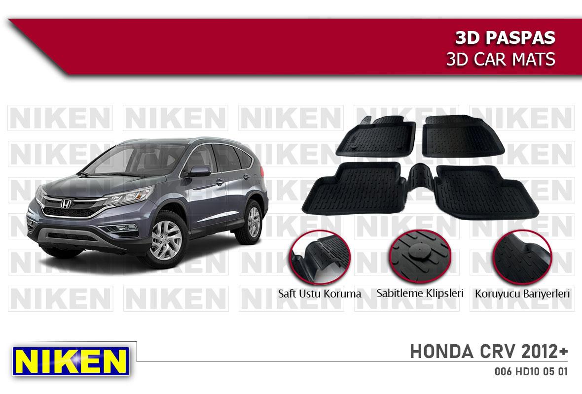 HONDA CRV 2012- 3D PASPAS