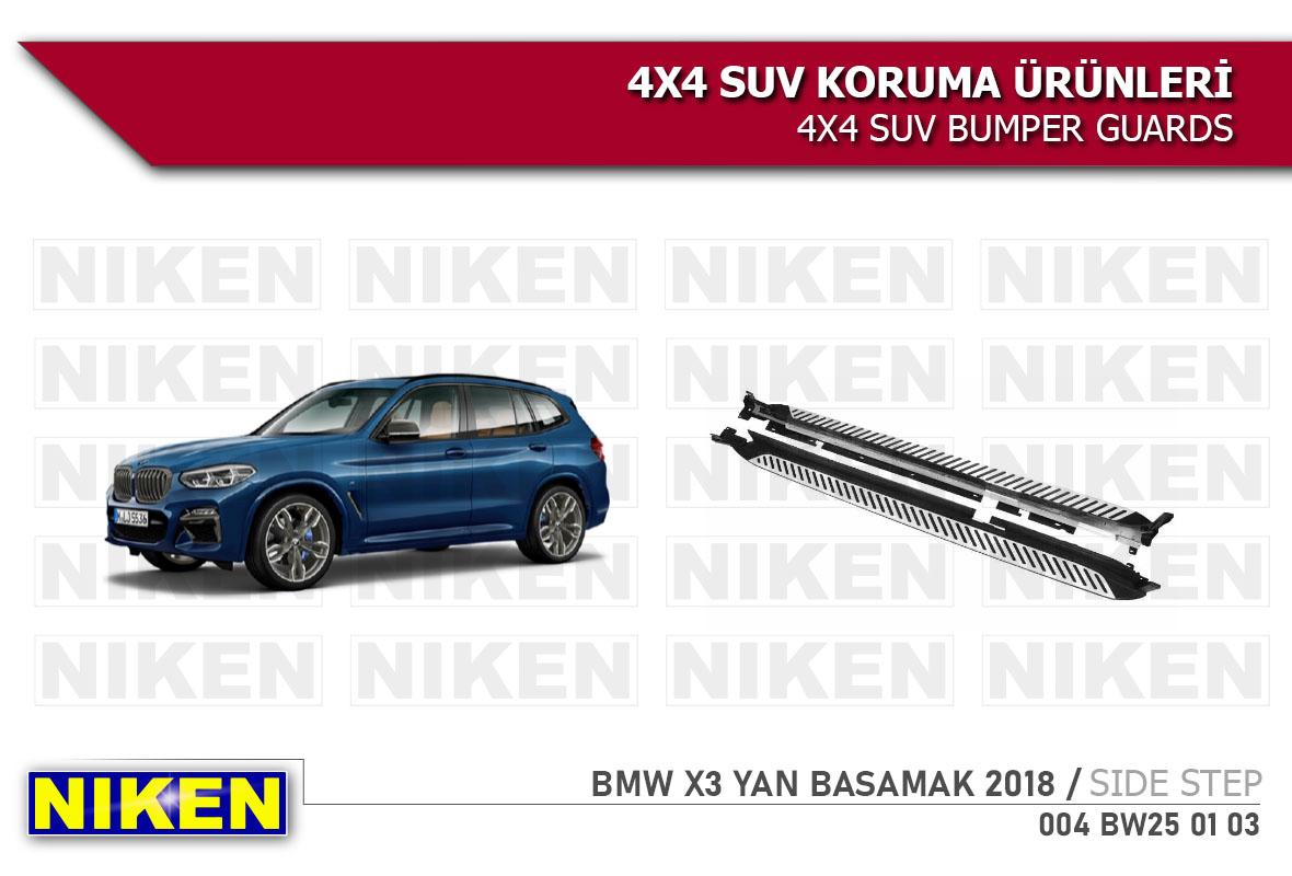 BMW X3 2018 > YAN BASAMAK