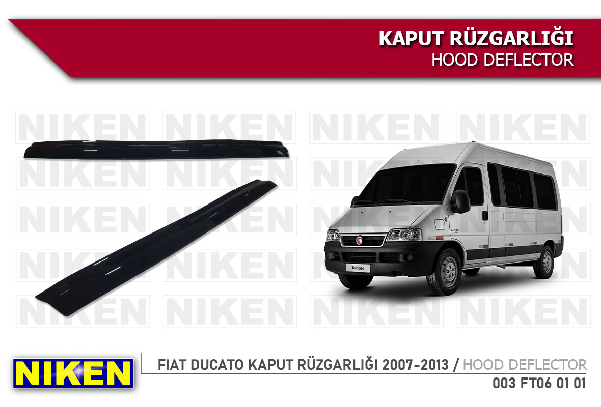 FIAT DUCATO KAPUT RÜZGARLIĞI 2007-2013