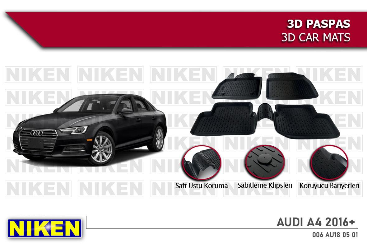 AUDI A4 2016- 3D PASPAS