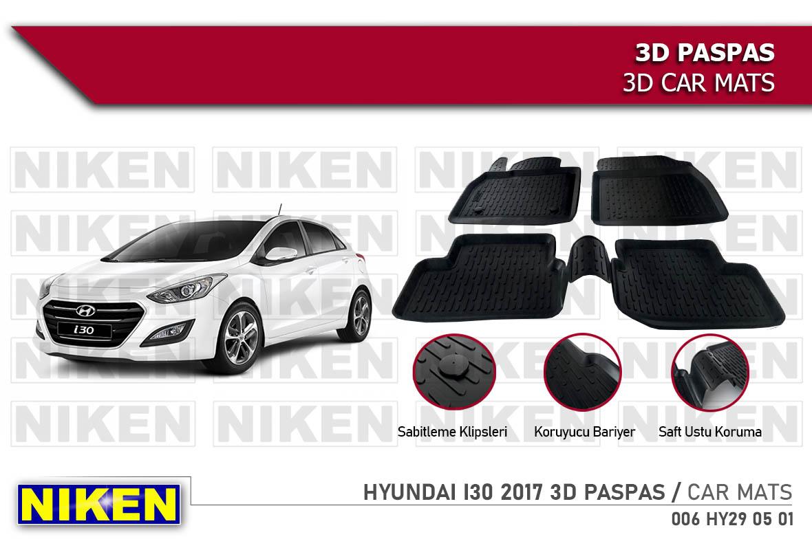 HYUNDAI I30 2017 3D PASPAS