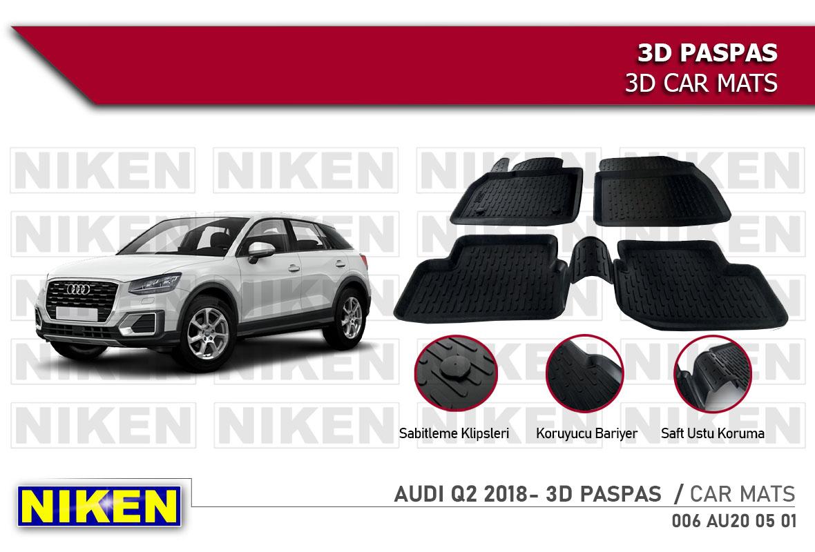 AUDI Q2 2018- 3D PASPAS