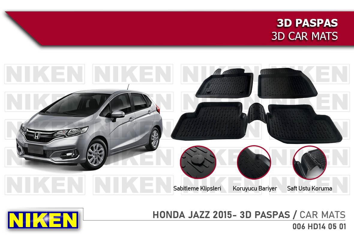 HONDA JAZZ  2015- 3D PASPAS