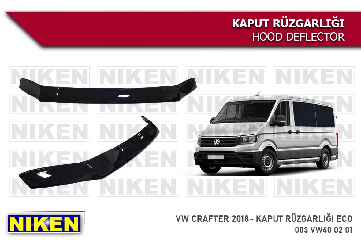 VW CRAFTER 2018- HOOD DEFLECTOR ECO
