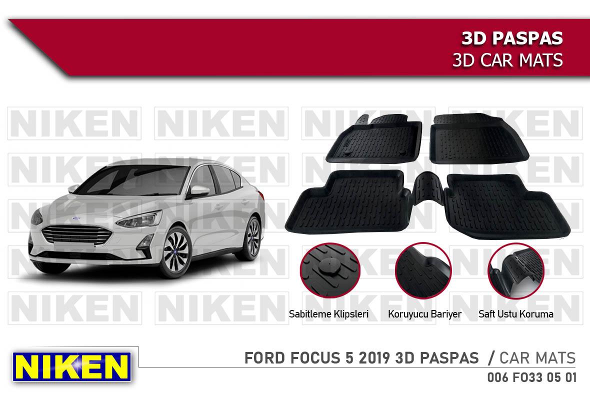 FORD FOCUS 5 2019 3D PASPAS