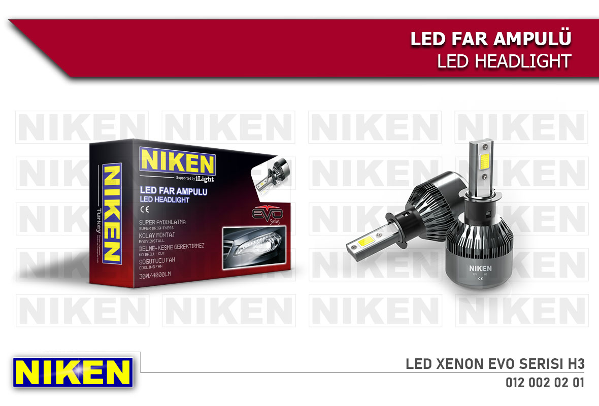LED XENON EVO SERISI  H3