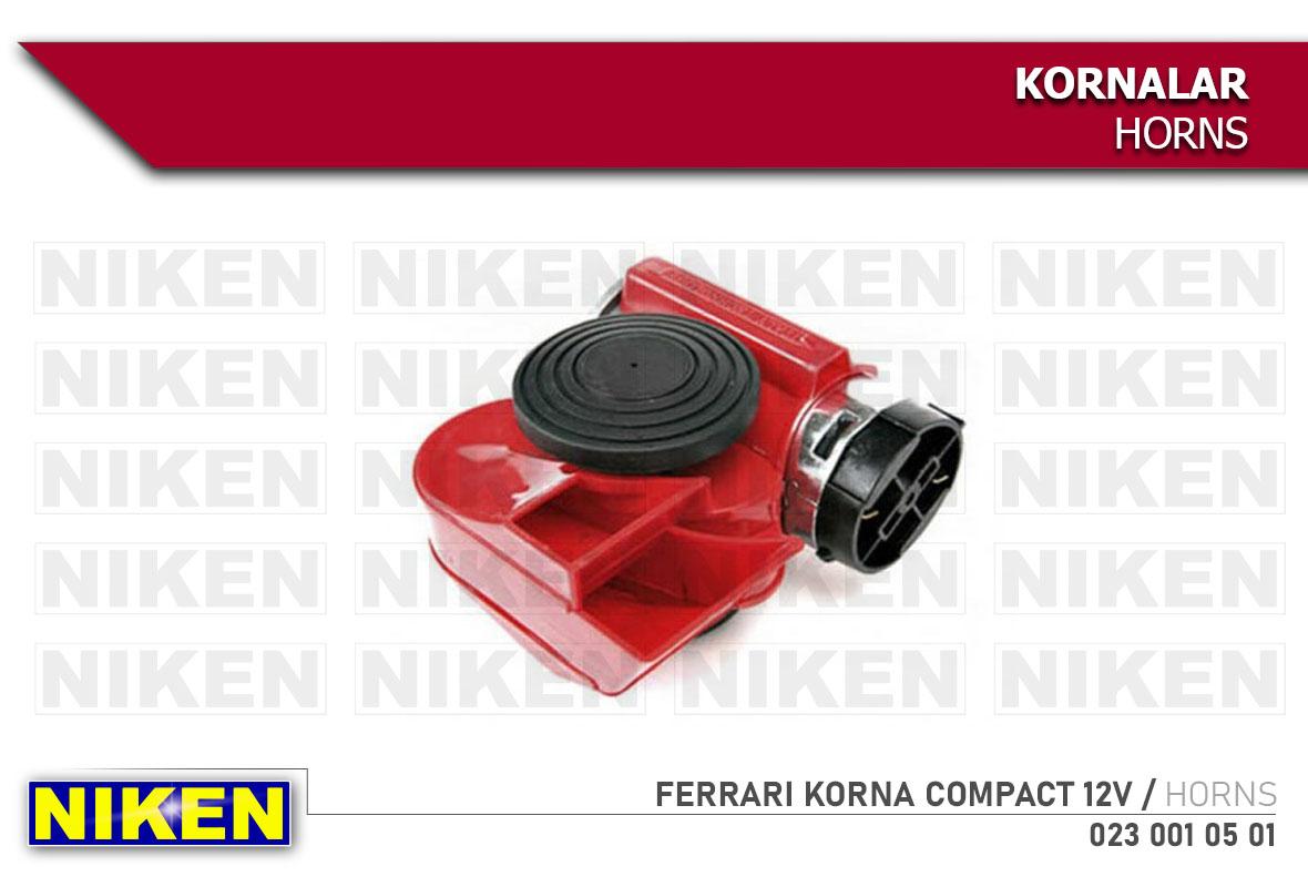 FERRARI KORNA COMPACT 12V