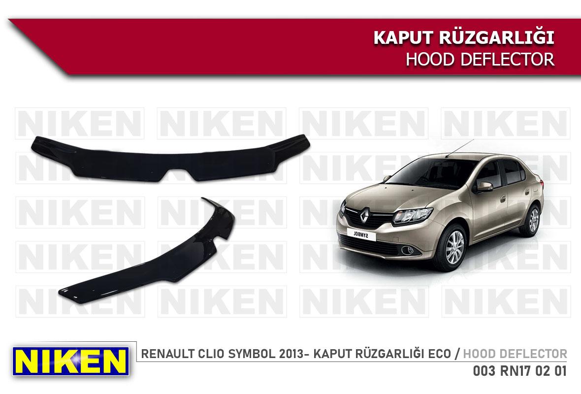 RENAULT CLIO SYMBOL 2013- KAPUT RÜZGARLIĞI ECO
