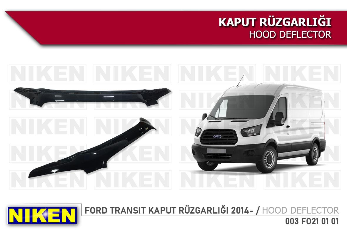 FORD TRANSIT KAPUT RÜZGARLIĞI 2014-