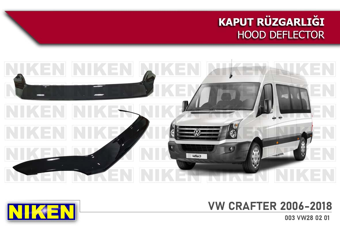 VW CRAFTER HOOD DEFLECTOR  2006-2018 ECO