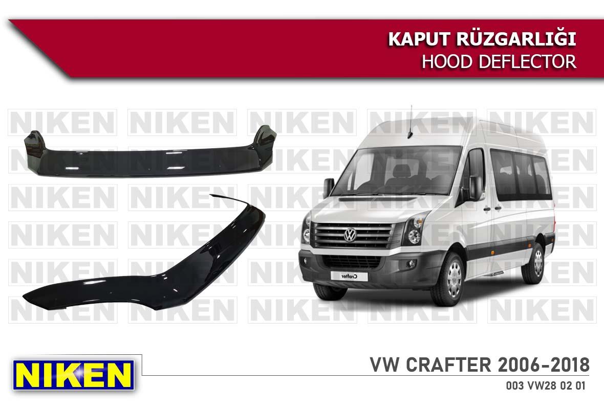 VW CRAFTER KAPUT RÜZGARLIĞI  2006-2018 ECO