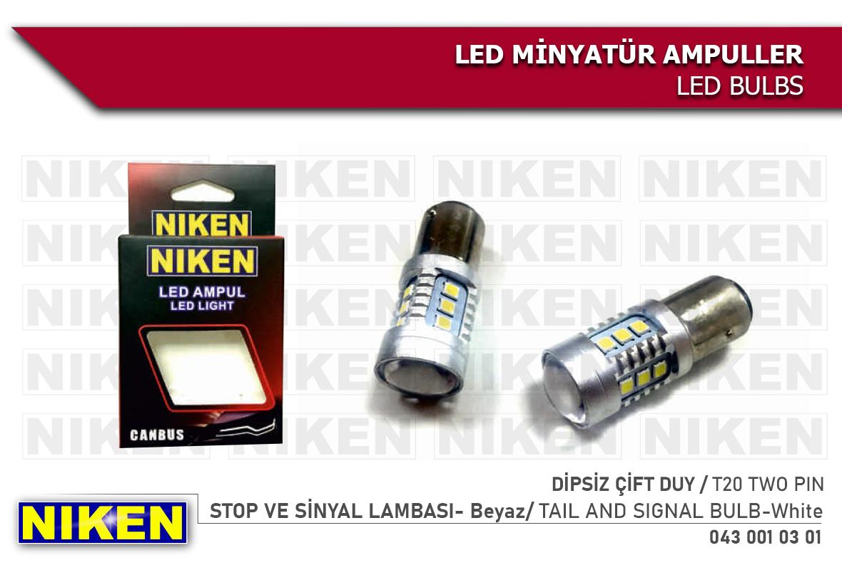 LED AMPUL 1016 ÇİFT DUY CANBUS LED