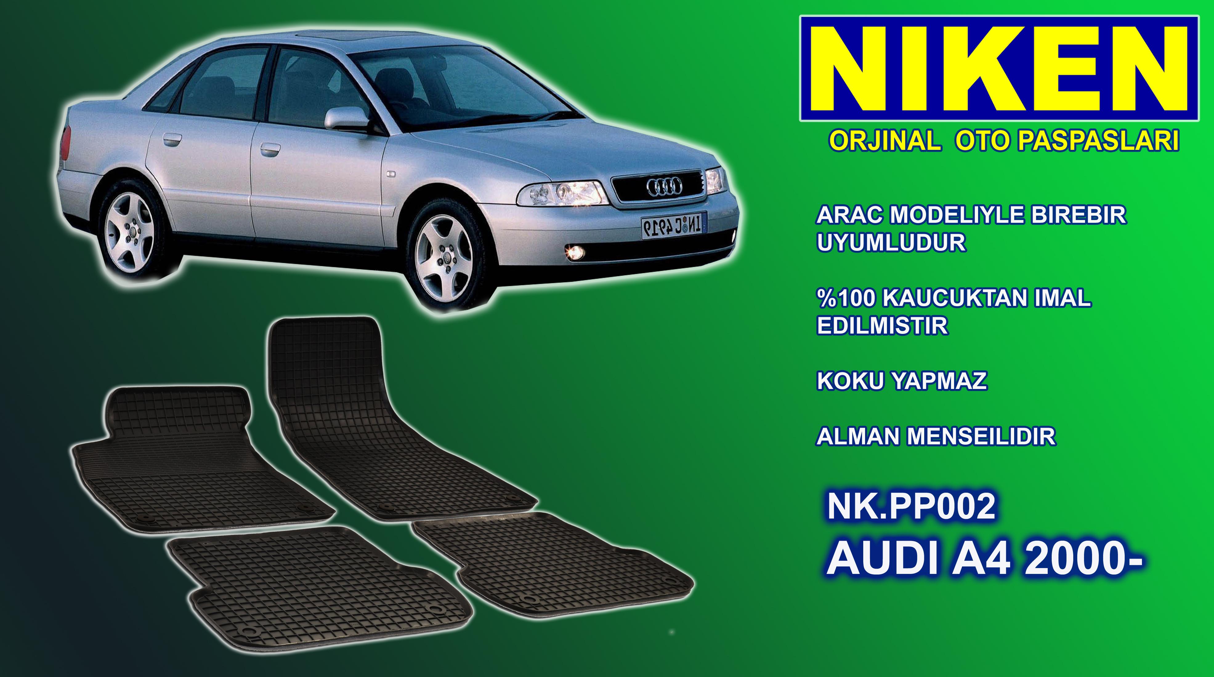 AUDI A4 (2000-) PASPAS 4LÜ (NK.PP002)
