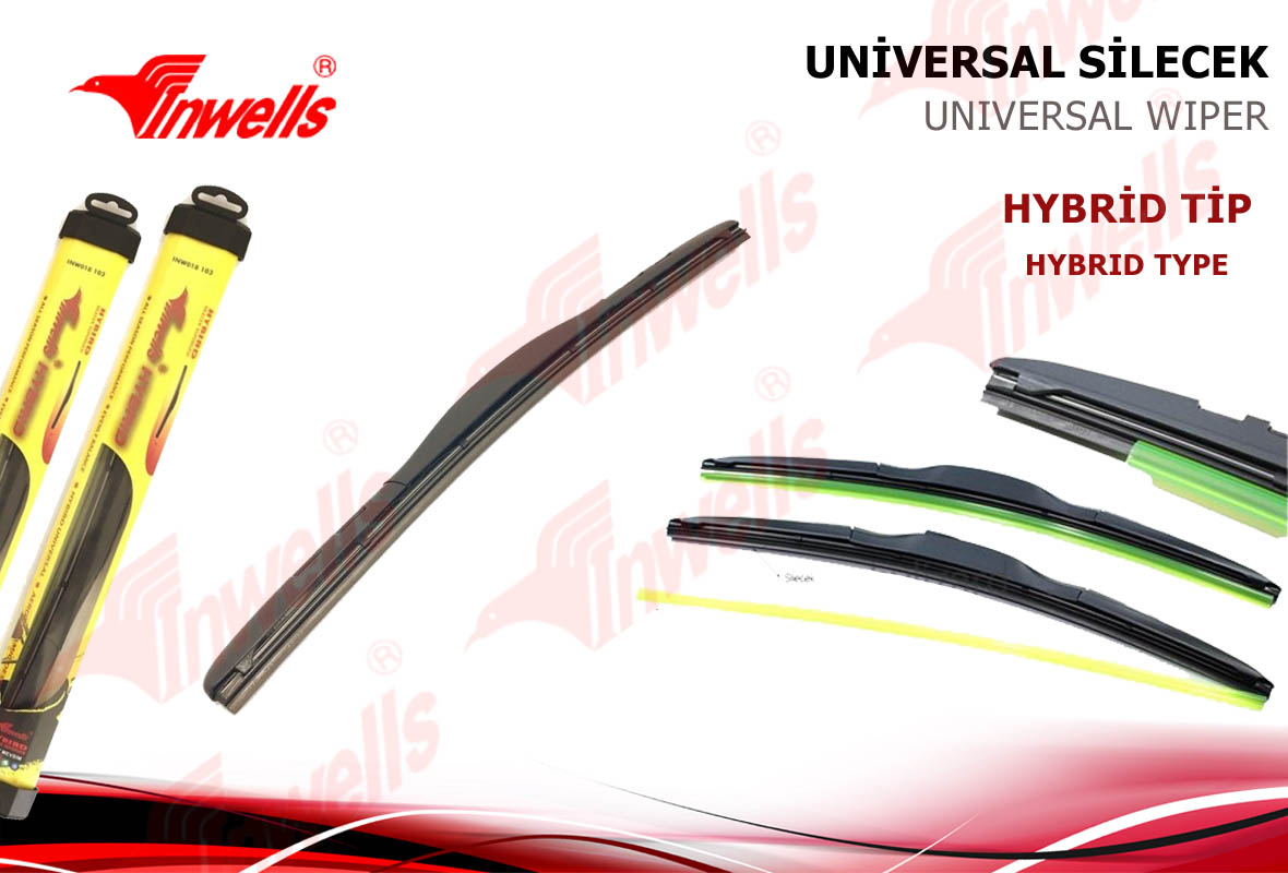 650mm HYBRID UNİVERSAL SİLECEK