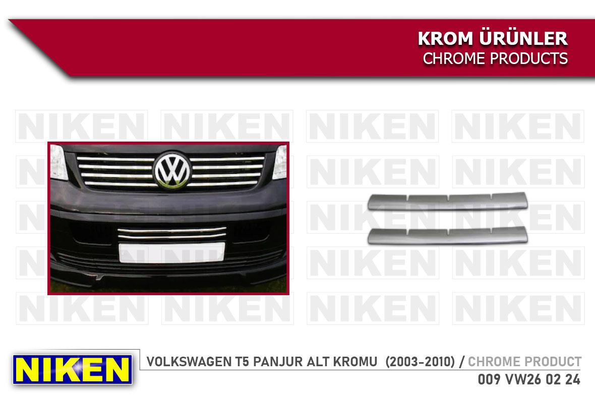 VW T5 PANJUR ALT KROMU  (2003-2010)