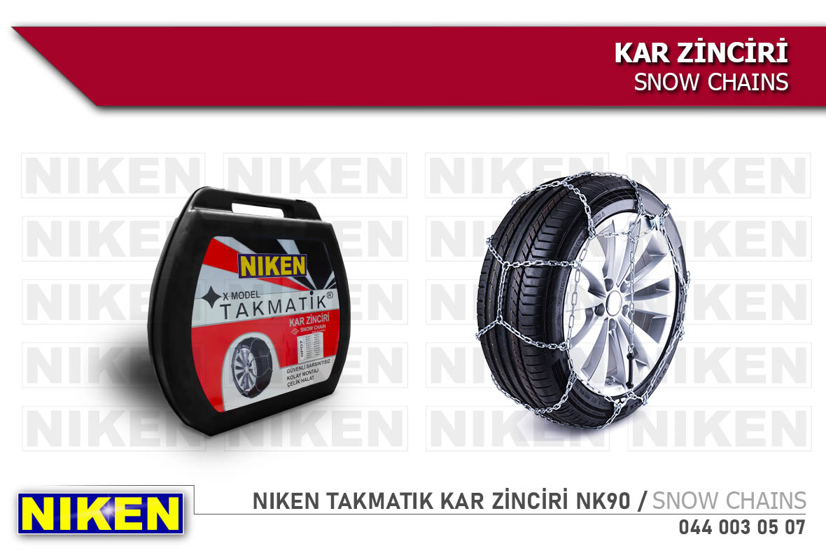 NIKEN TAKMATIK KAR ZİNCİRİ NK90