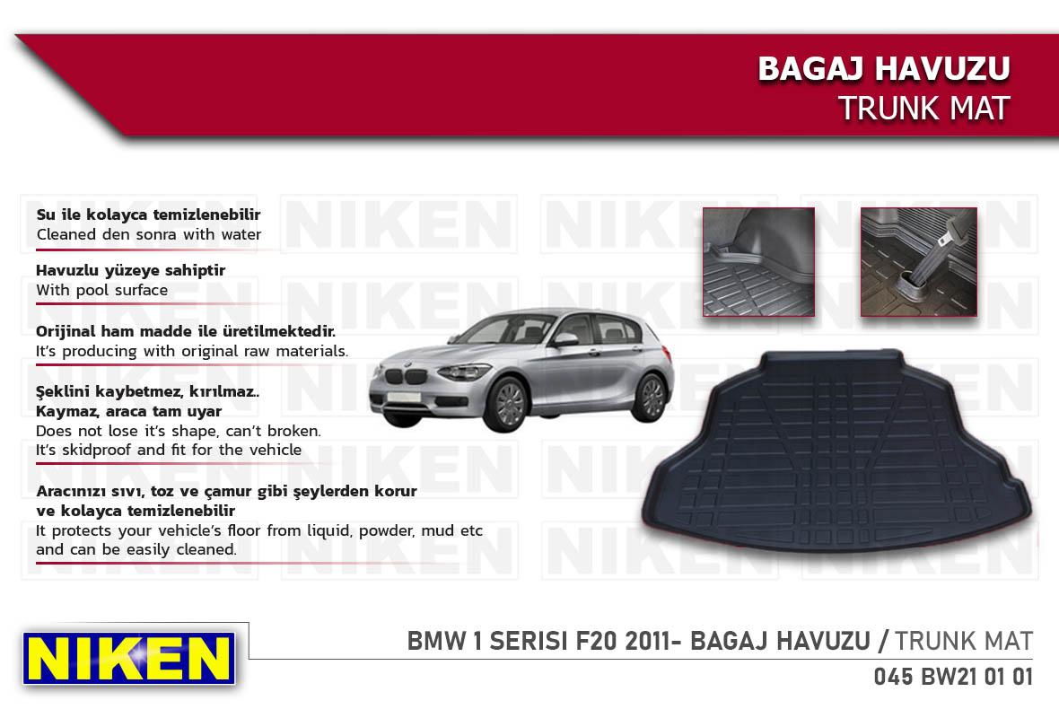 BMW 1 SERISI F20 2011- BAGAJ HAVUZU