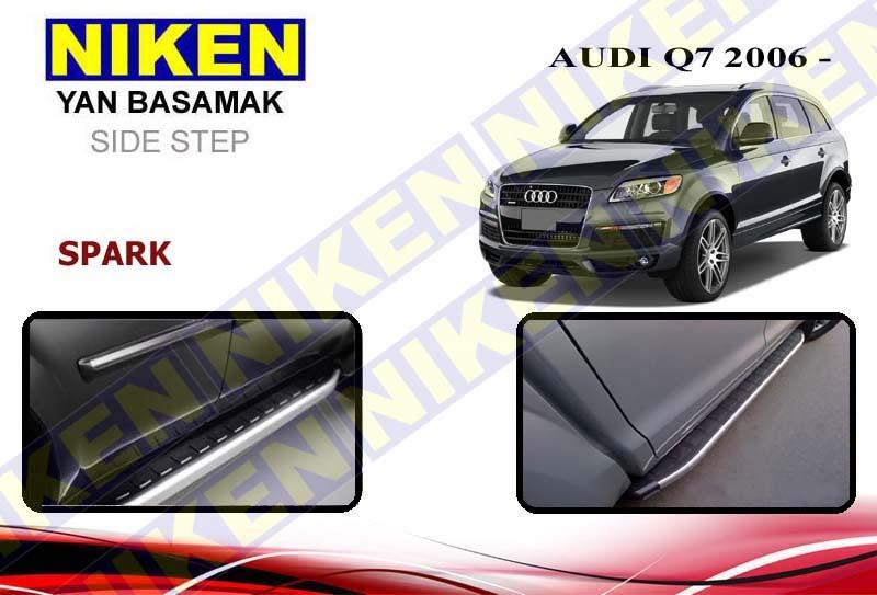 AUDI Q7 2006-2015 YAN BASAMAK SPARK 213 cm