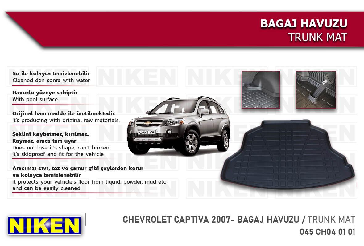 CHEVROLET CAPTIVA 2007- BAGAJ HAVUZU