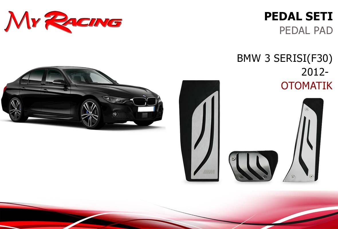 BMW F30 PEDAL SETİ (AYAK DAYAMALI) OTOMATİK