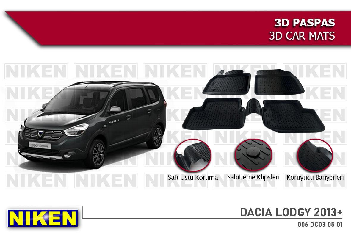 DACIA LODGY 2013- 3D PASPAS