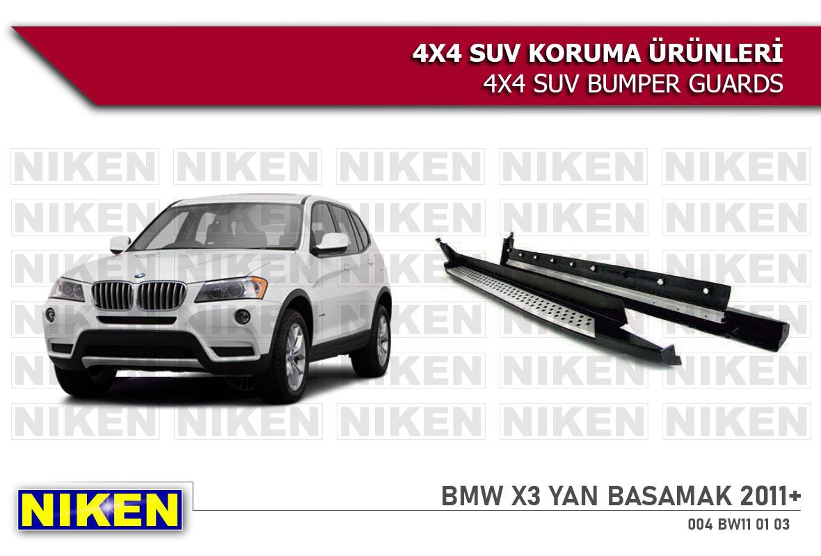 BMW X3 2011 > YAN BASAMAK (X3-S103)