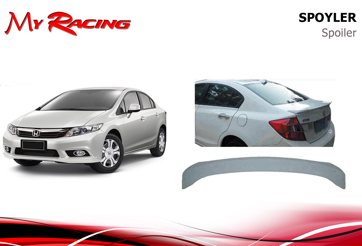 HONDA CIVIC 2012 SPOILER