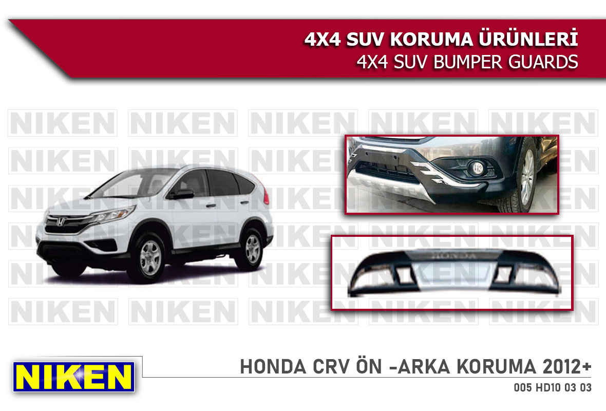 HONDA CRV 2012 > FRONT -REAR BUMPER (HD-BT-006-007)