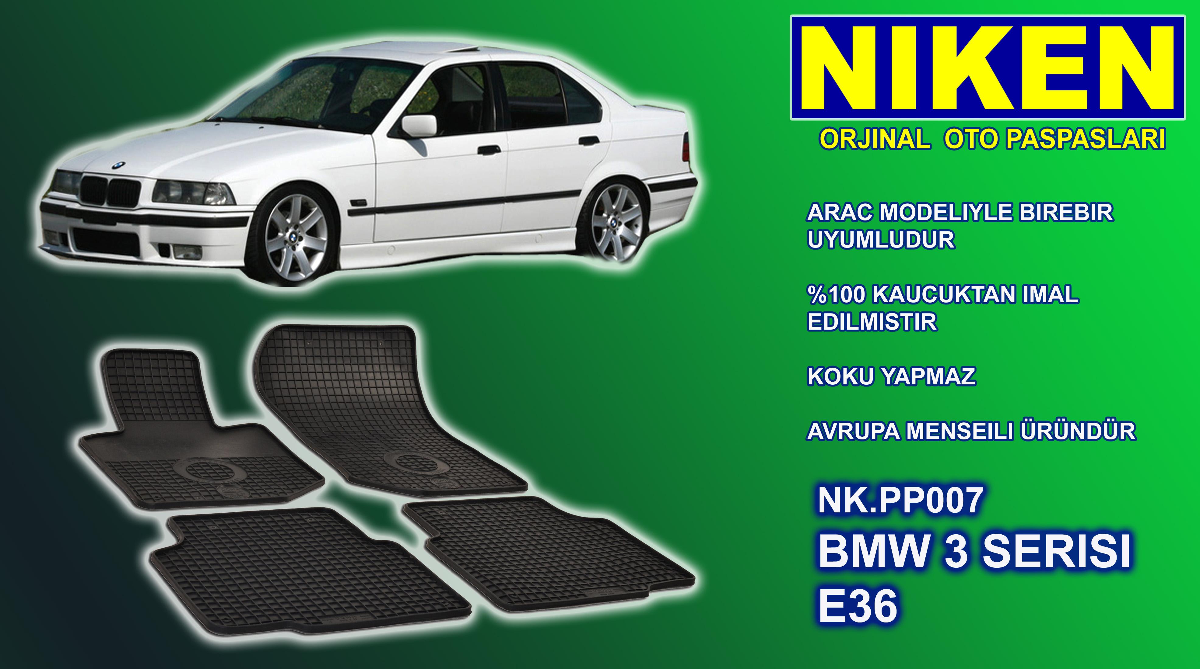 BMW 3er (E 36) (1992-1998) PASPAS 4LÜ (NK.PP007)