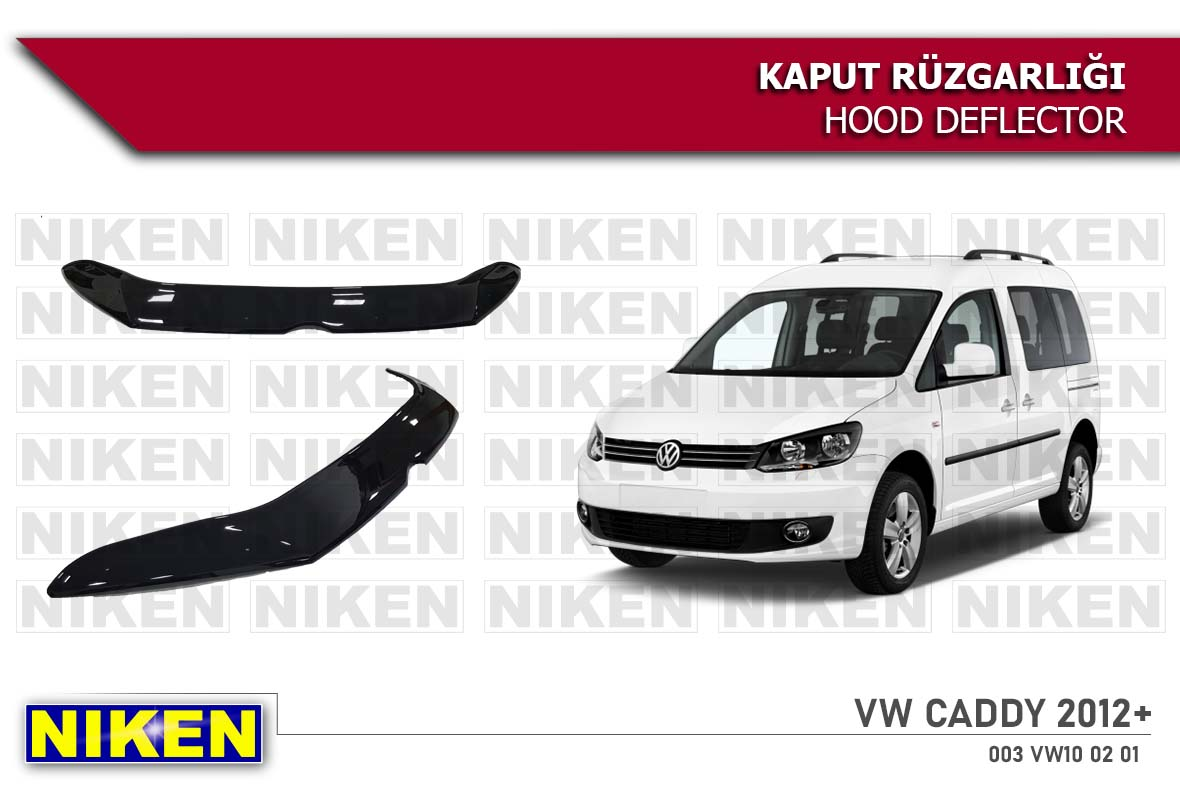 VW CADDY HOOD DEFLECTOR 2012- ECO