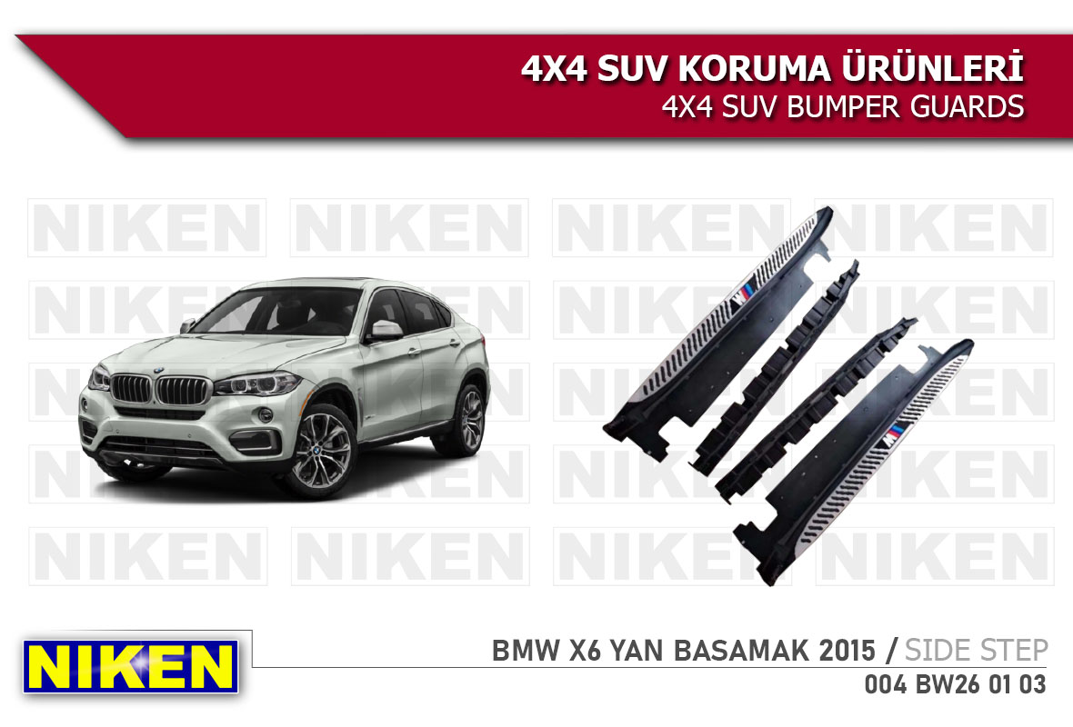 BMW X6 2015 > YAN BASAMAK