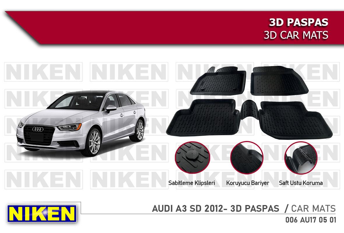 AUDI A3 SD 2012- 3D PASPAS