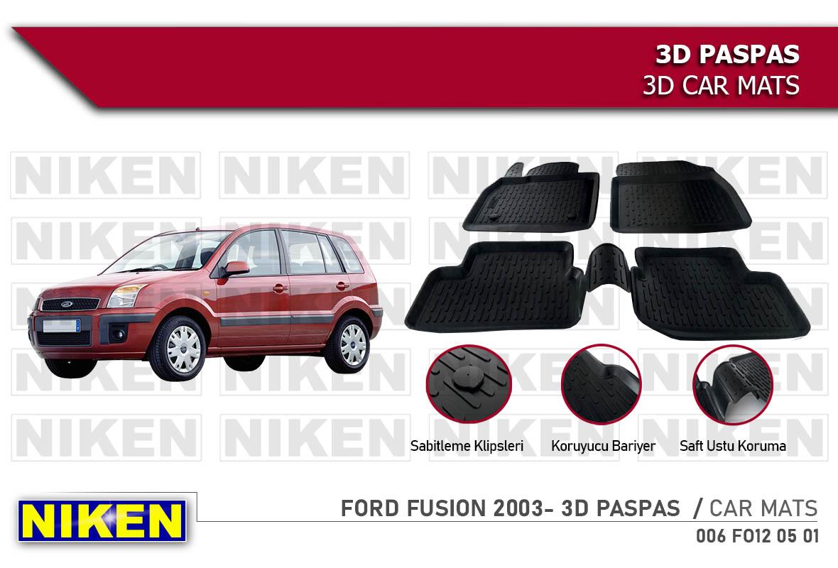 FORD FUSION 2003- 3D PASPAS
