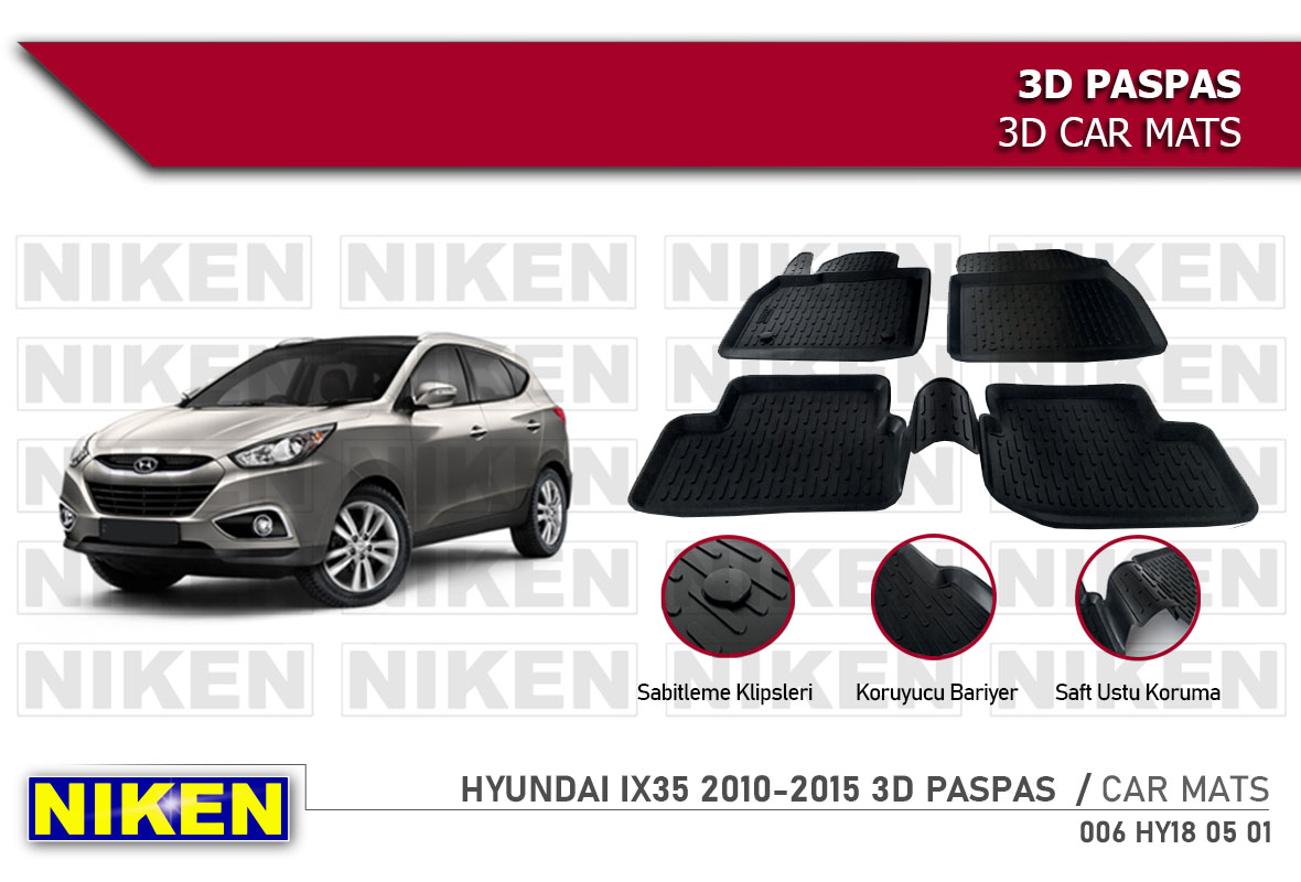 HYUNDAI IX35 2010-2015 3D PASPAS