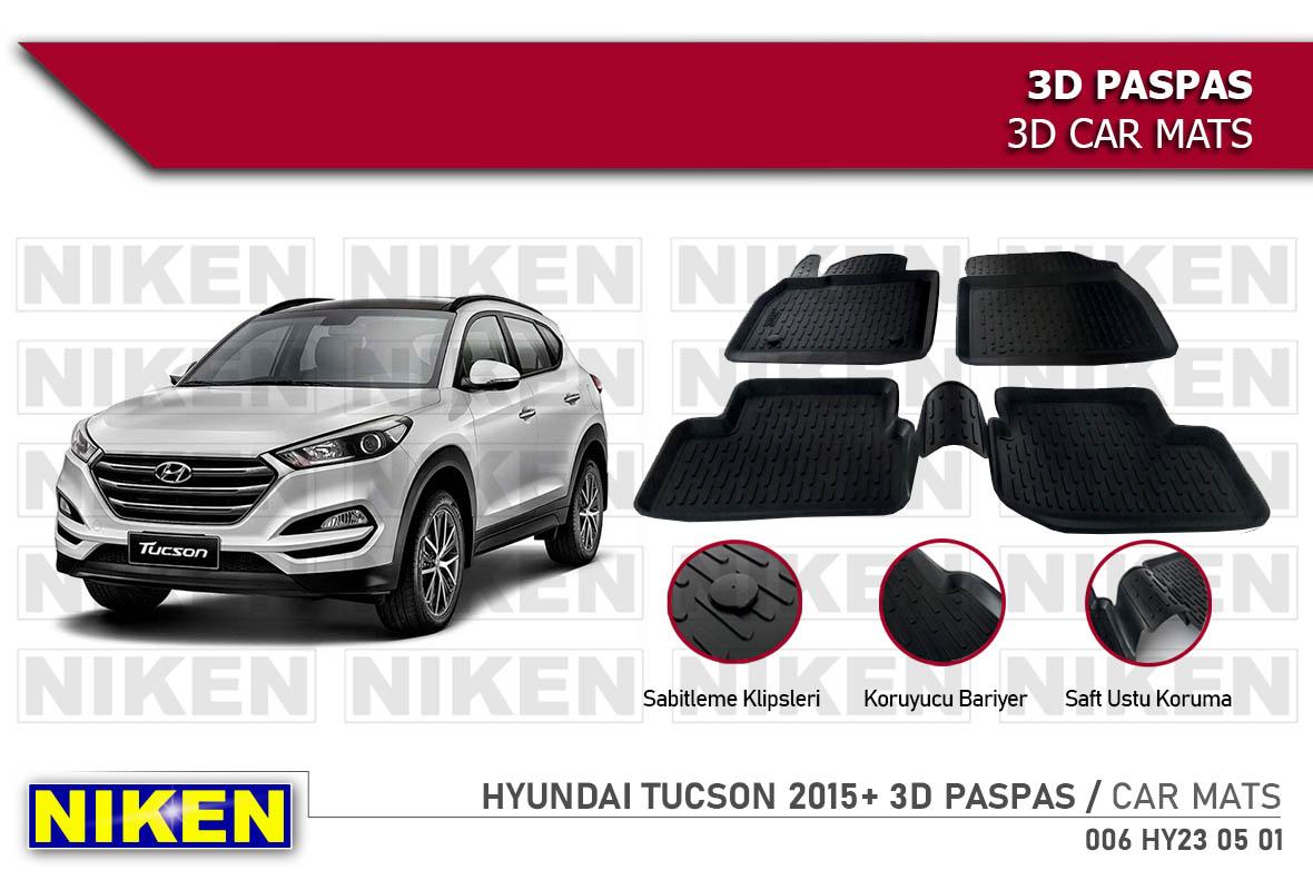 HYUNDAI TUCSON 2015- 3D PASPAS