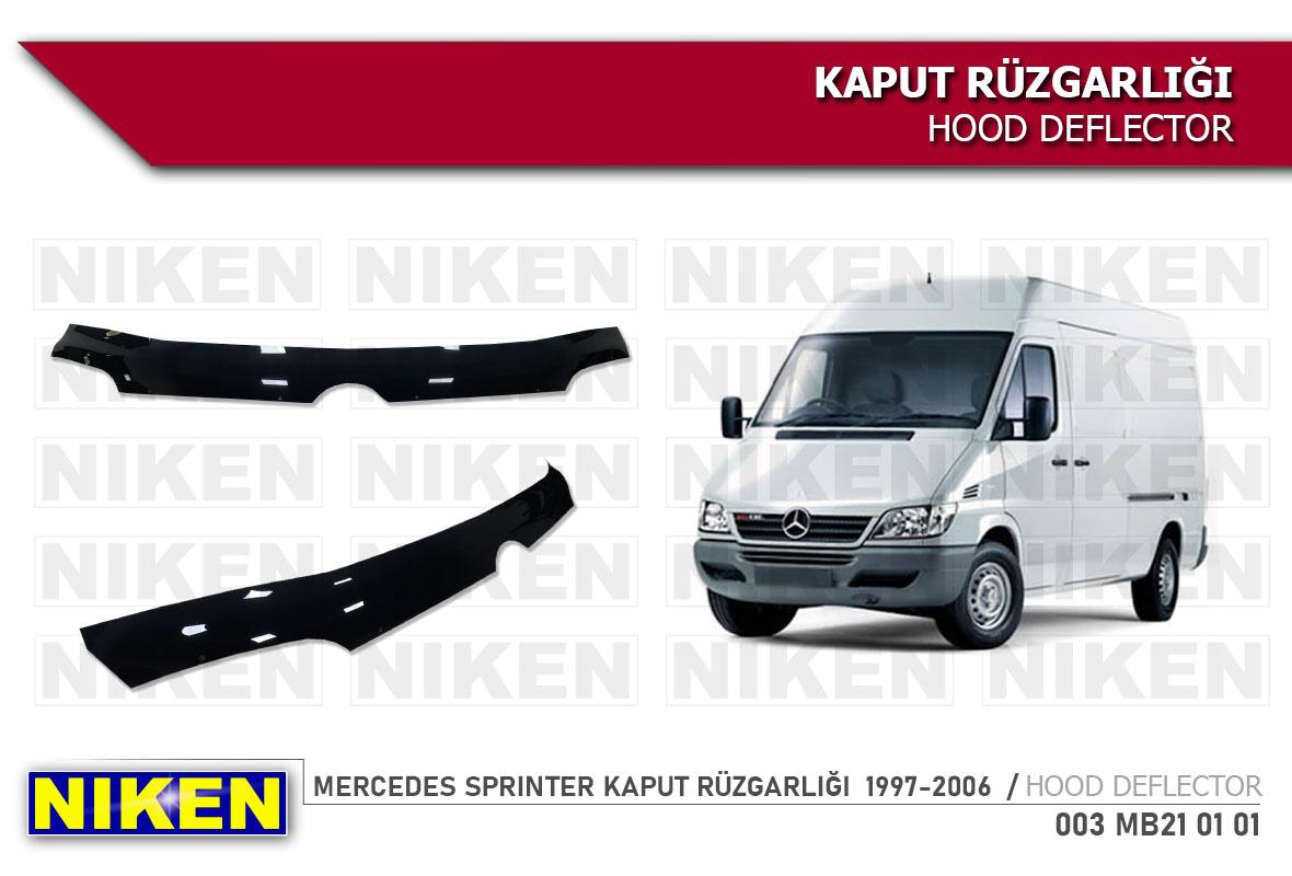 MERCEDES SPRINTER KAPUT RÜZGARLIĞI  1997-2006