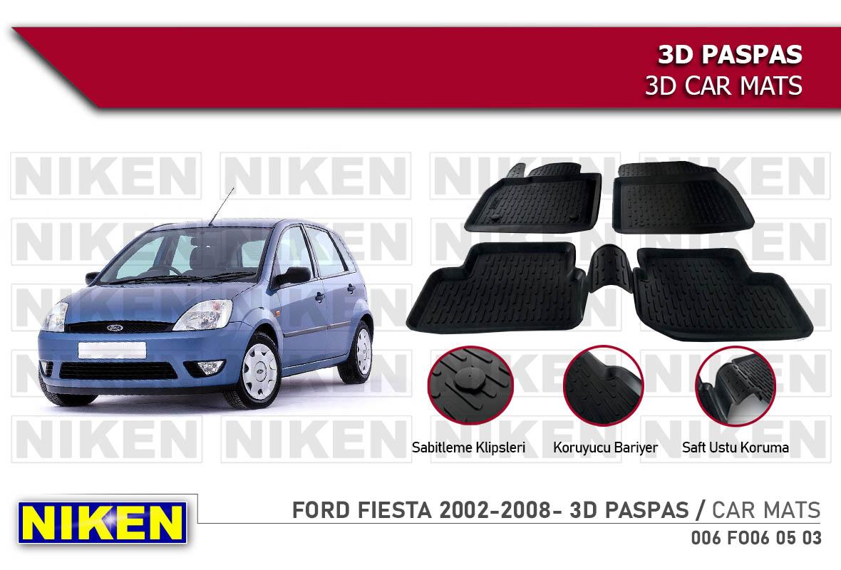 FORD FIESTA 2002-2008- 3D PASPAS