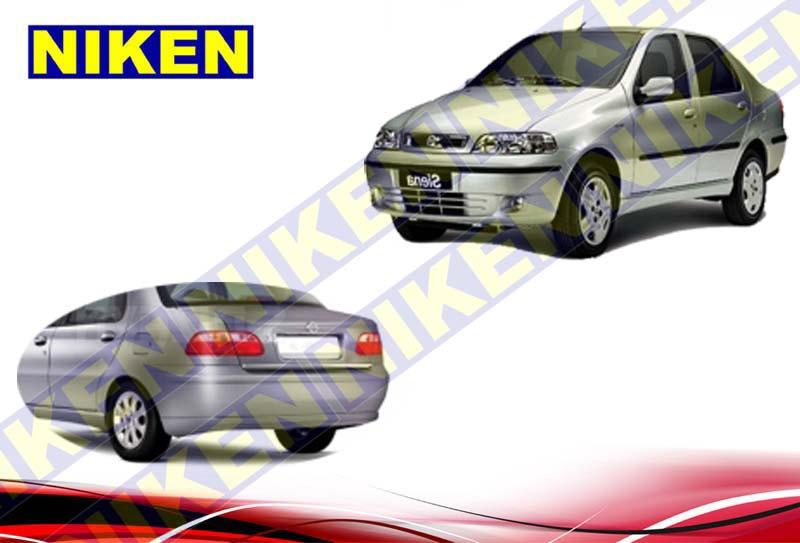 FIAT SİENA BAGAJ KROMU (2002-)