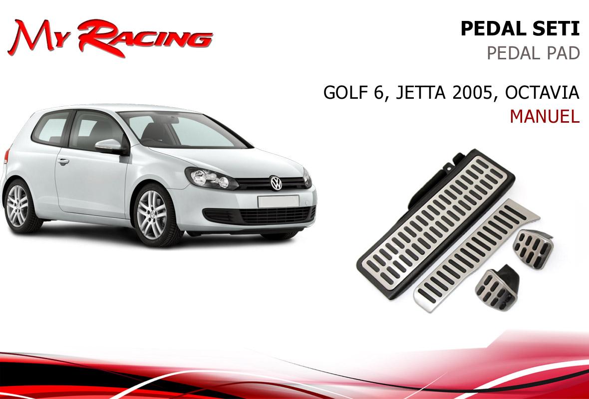 VW GOLF 6, JETTA 2005-, PEDAL SETI MANUEL
