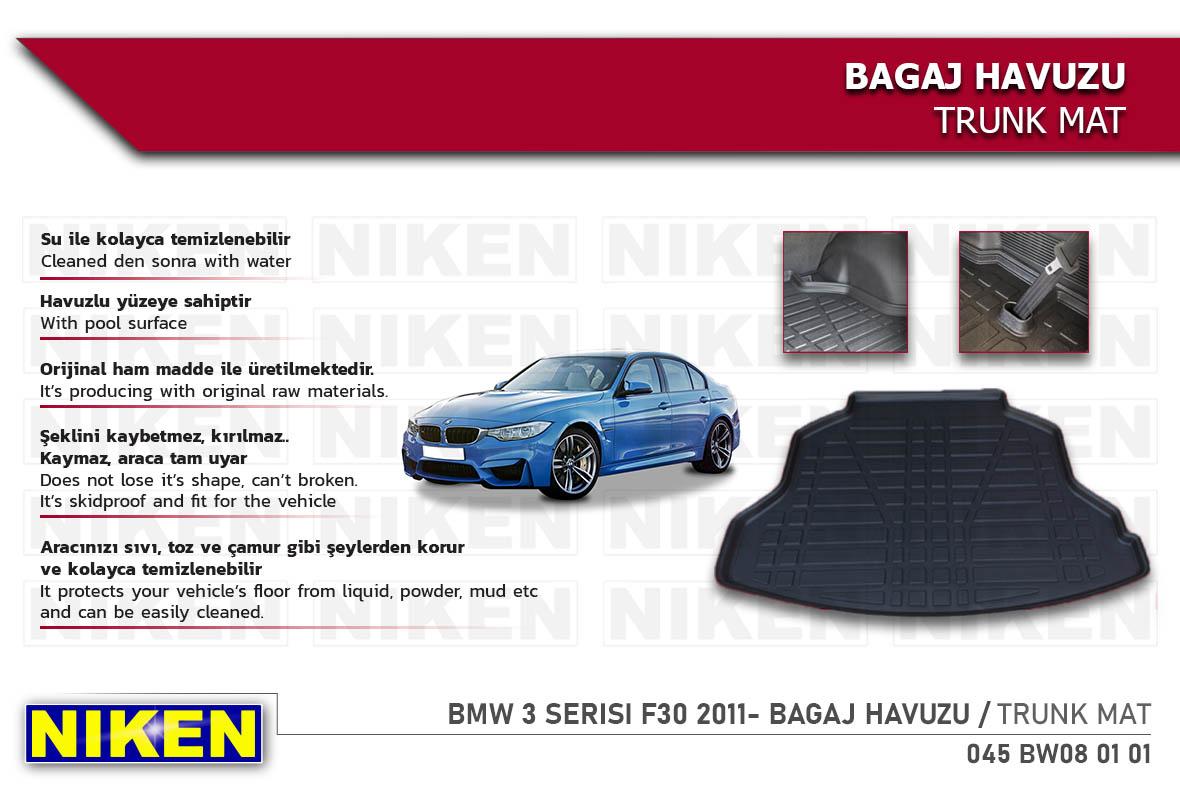 BMW 3 SERISI F30 2011- BAGAJ HAVUZU