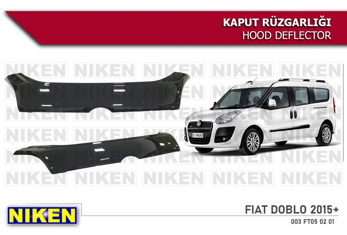 FIAT DOBLO  2015- KAPUT RÜZGARLIĞI ECO