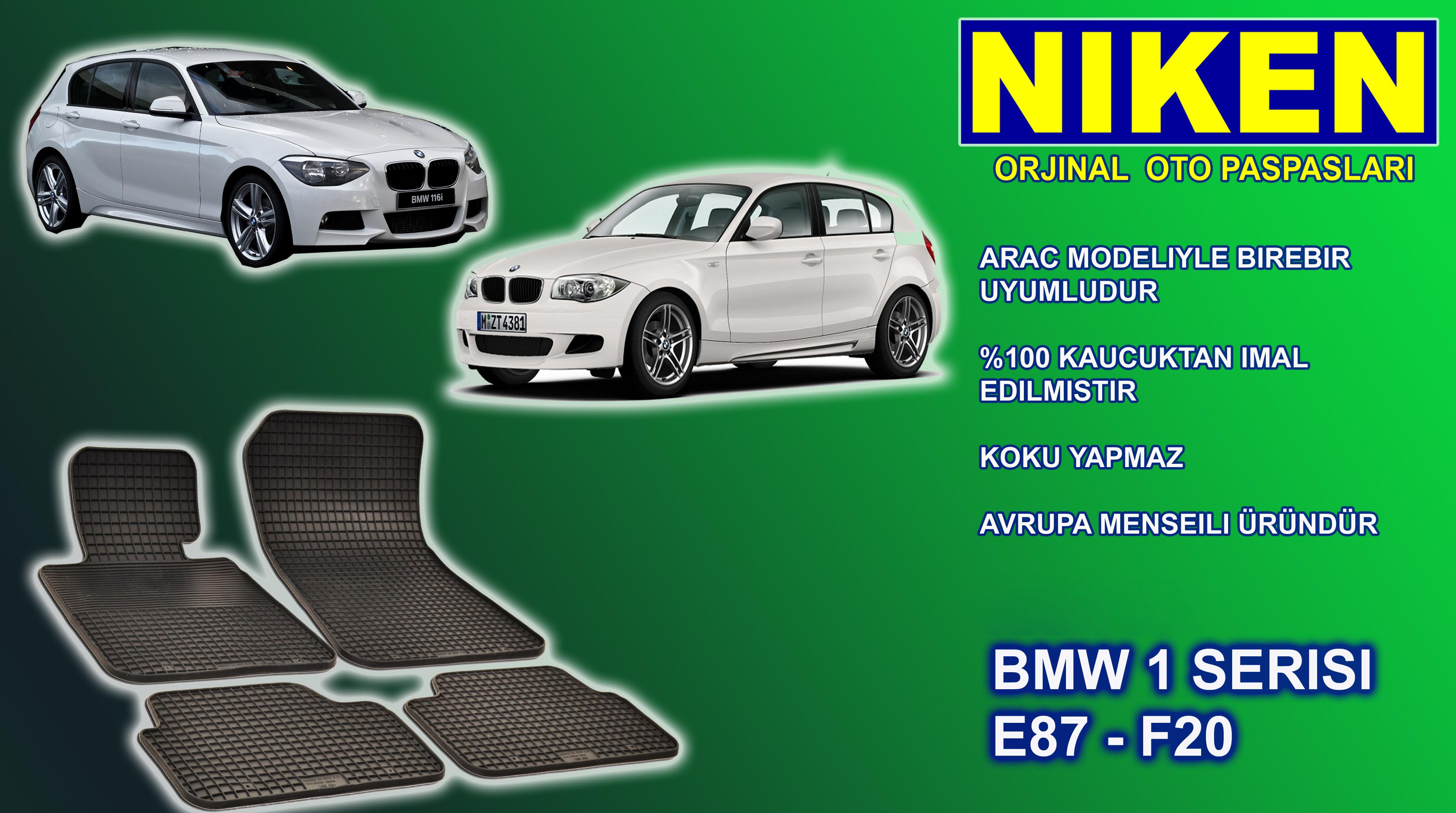 BMW 1er (E 87) (2005-2010) PASPAS 4LÜ (NK.PP172)