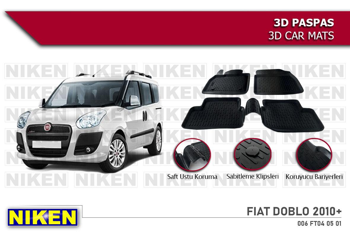FIAT DOBLO 2010- 3D PASPAS