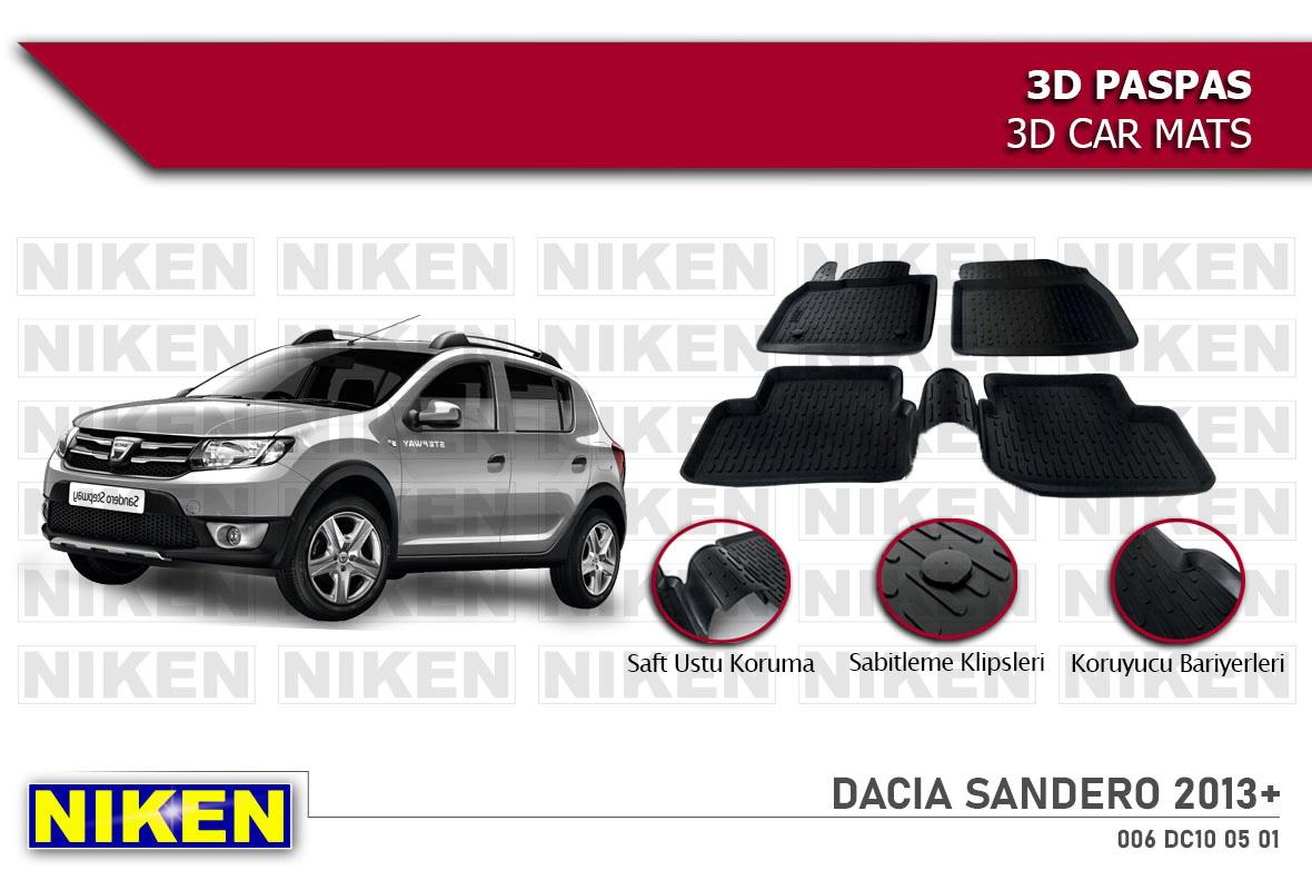 DACIA SANDERO 2013- 3D PASPAS