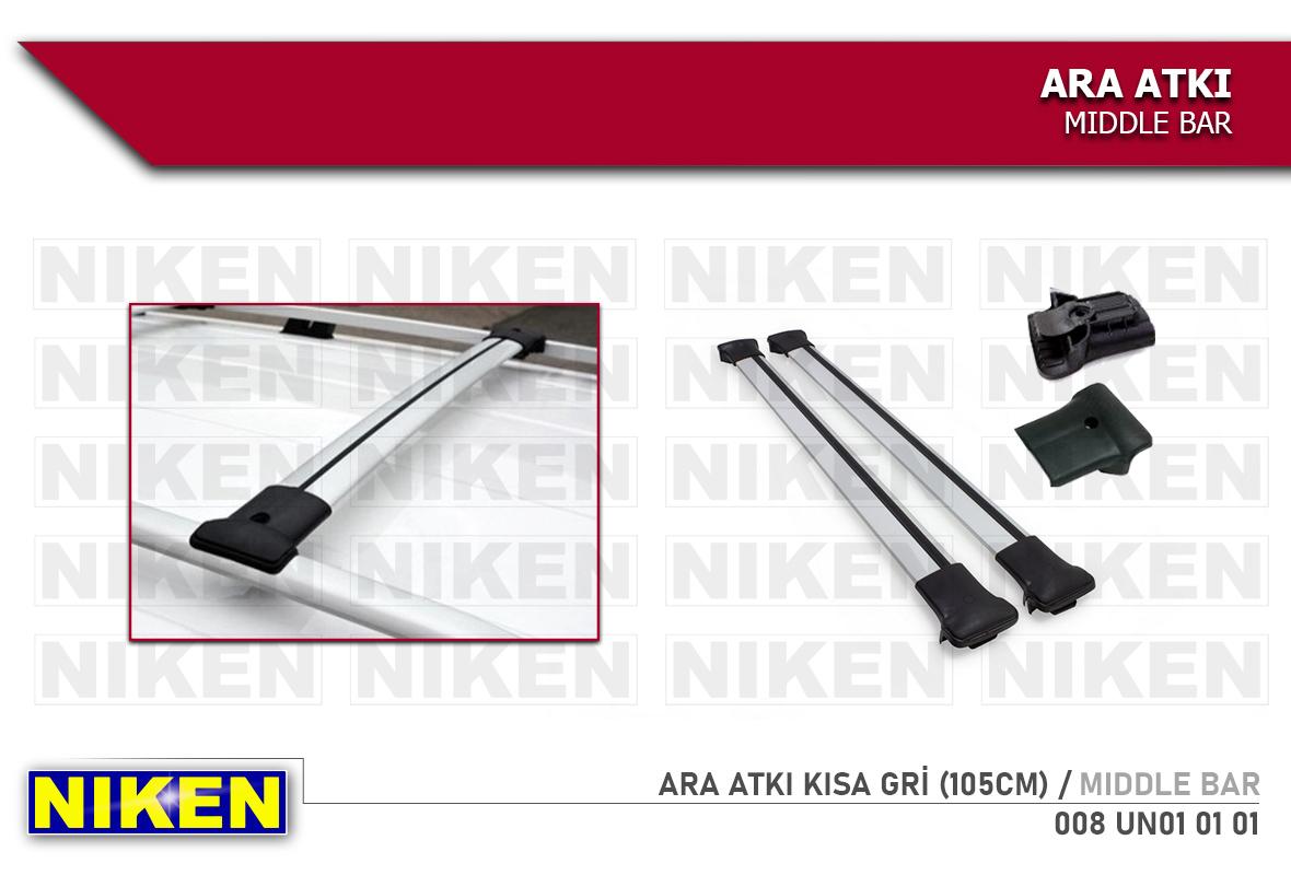 ARA ATKI KISA GRİ (105CM)