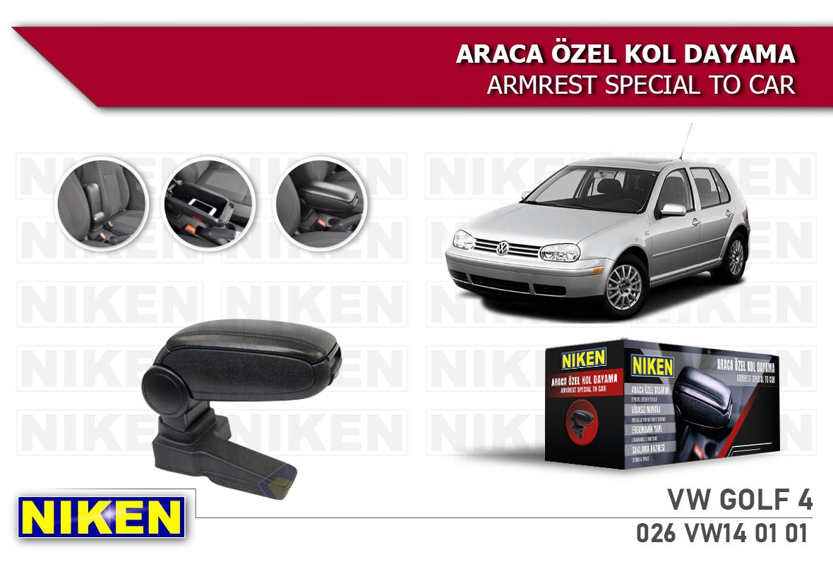VW GOLF IV ARACA ÖZEL KOL DAYAMA SİYAH