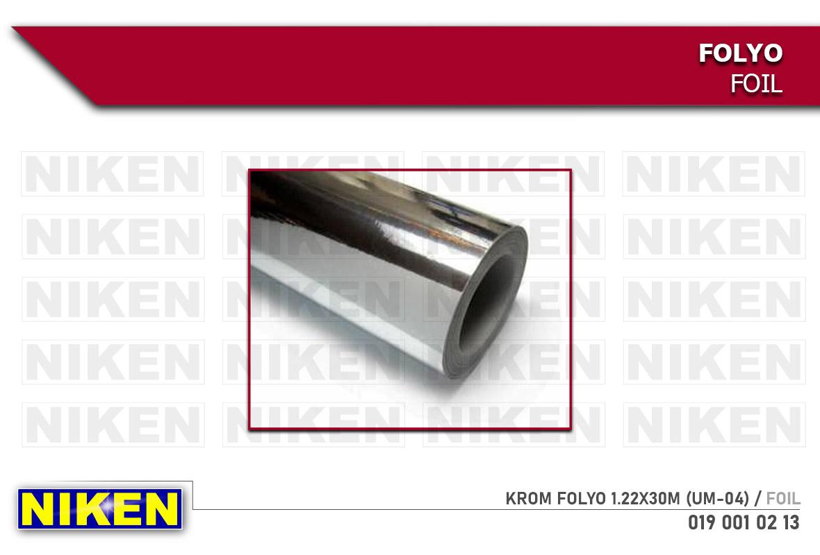 KROM FOLYO 1.22X30M (UM-04)