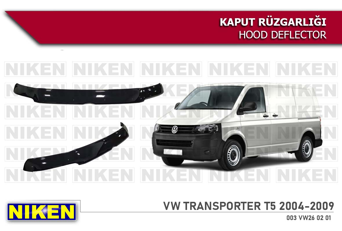 VW TRANSPORTER T-5  HOOD DEFLECTOR 2004-2009 ECO